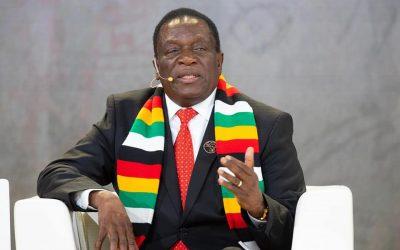 "President Mnangagwa blames ""Dark Forces"" for crippling the economy"