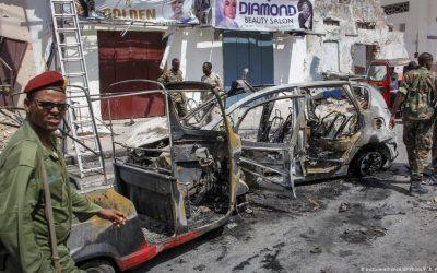 Mogadishu: Car bomb kills eight soldiers at military base