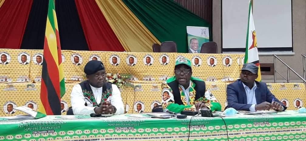 Zanu PF suspends provincial elections